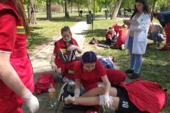 Прва-помоћ-вежба-у-Народној-башти